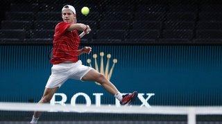 Tennis – Paris-Bercy: une défaite douce pour Diego Schwartzman