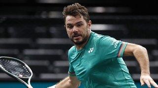 Tennis: Stanislas Wawrinka domine Daniel Evans au 1er tour à Paris-Bercy