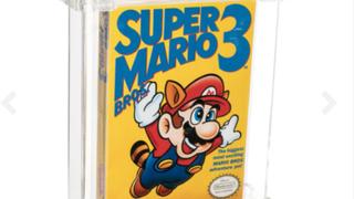 Jeux vidéo: une cartouche de «Super Mario Bros. 3» vendue 142 000 francs