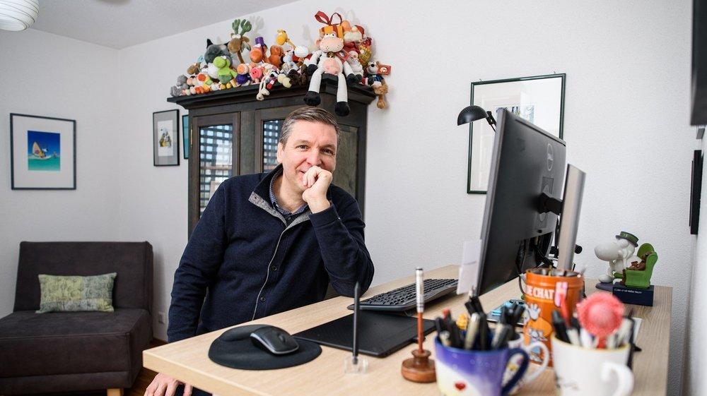 Après avoir occupé des bureaux à Morges et à Préverenges, Sen travaille aujourd'hui dans son appartement saint-preyard.