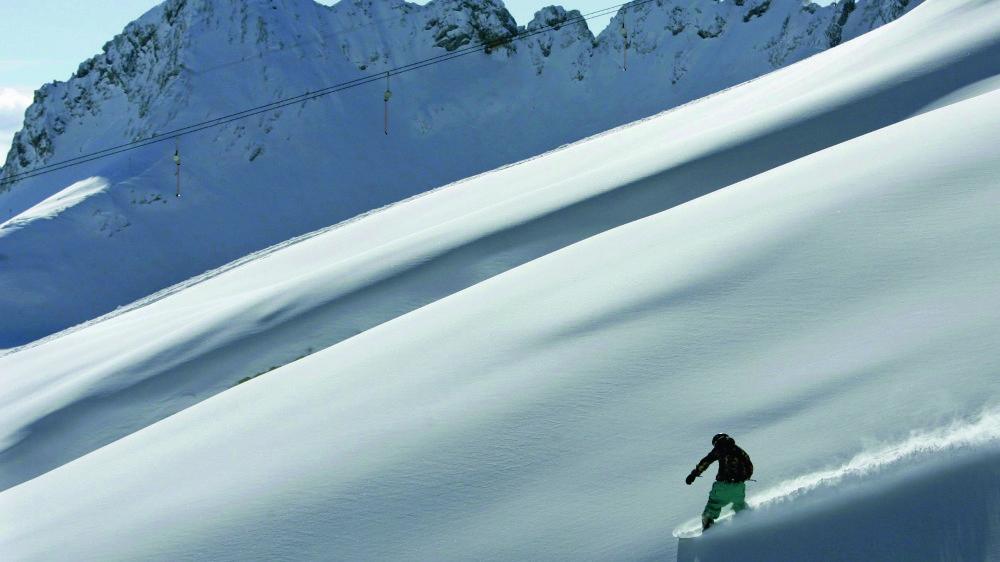 La Bavière (ici Garmisch) et ses pistes sont particulièrement prisées durant les fêtes de fin d'année par de nombreux vacanciers allemands et étrangers.