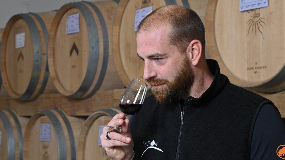 Aujourd'hui âgé de 40 ans, Fabien Sordet vient d'enchaîner cinq ans de formation professionnelle pour décrocher un CFC, le brevet puis la maîtrise fédérale de vigneron-caviste.