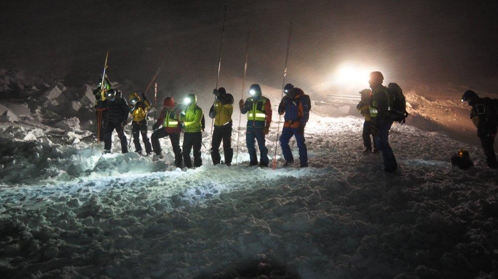 Les secours n'ont pas pu ranimer la malheureuse victime de l'avalanche.