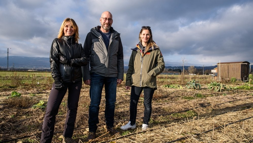 Caroline Serafini, Reynald Pasche et Elisabeth Petraki se réjouissent d'étendre leur projet en terre nyonnaise.