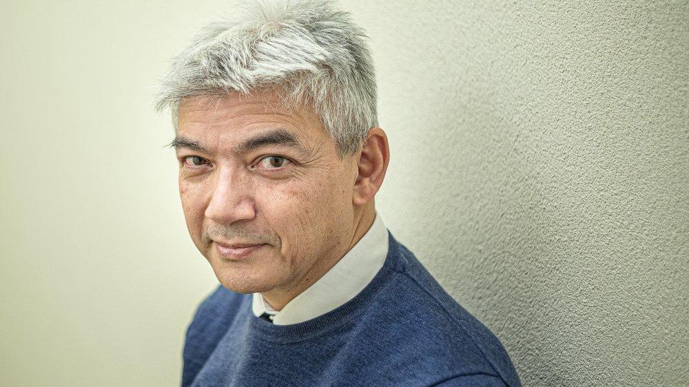 Le Glandois Frédéric Dang, président de la FRAC.