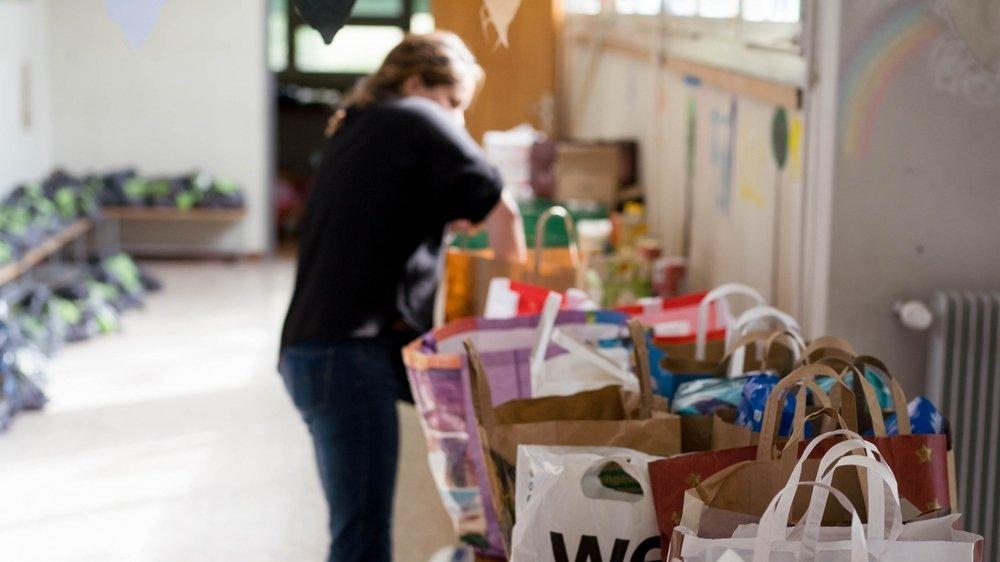 L'épicerie solidaire La Soliderie, créée par d'anciennes bénévoles de l'association Distribution alimentaire Nyon qui délivrait jusqu'au 1er août des sacs de nourriture à l'ancienne école du Couchant (sur cette image), sera notamment approvisionnée par les invendus des grands magasins.
