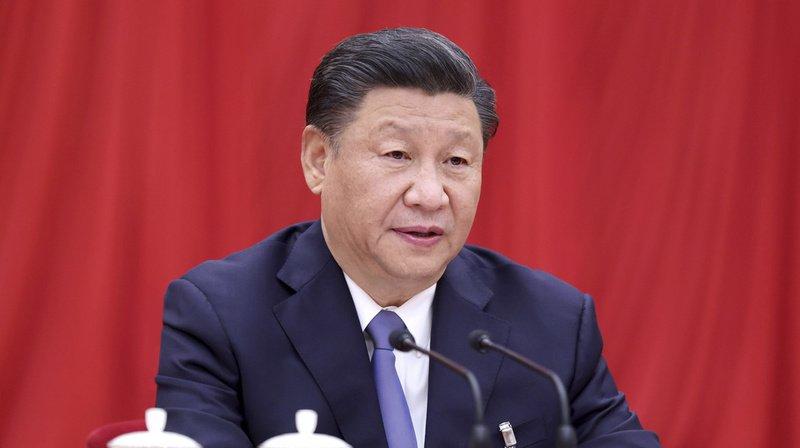 Le président chinois s'est exprimé dans un télégramme cité mercredi par les médias d'Etat à Pékin.