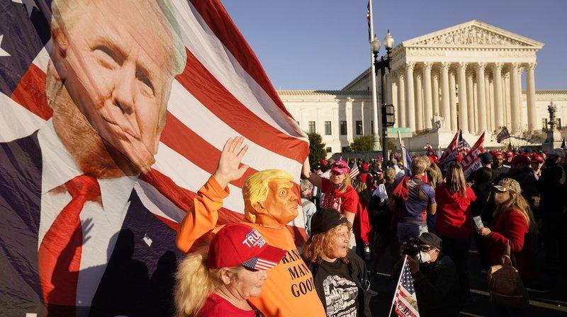 Etats-Unis: revers pour Donald Trump devant la Cour suprême