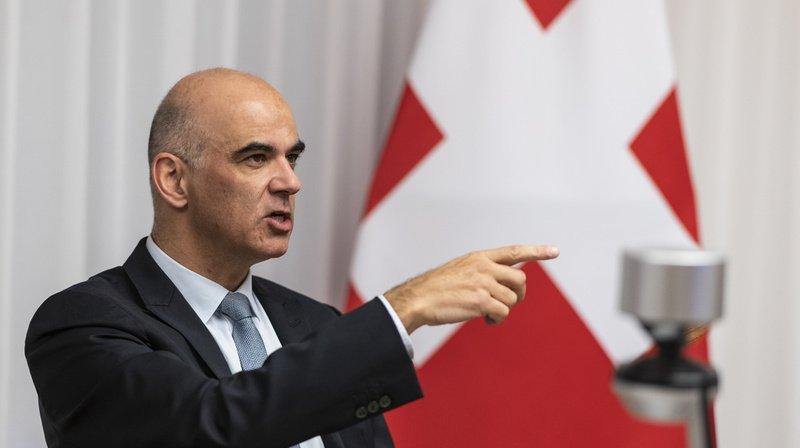 Conseil fédéral: Alain Berset s'exprime sur la procédure de chantage dont il a été victime
