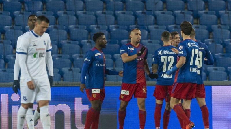 Lausanne-Sport s'est incliné 2-1 au Parc Saint-Jacques de Bâle.