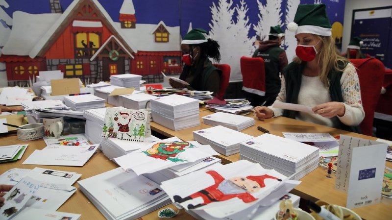 France: la société Epopia, sous le nom du Père Noël, répond individuellement aux lettres des enfants