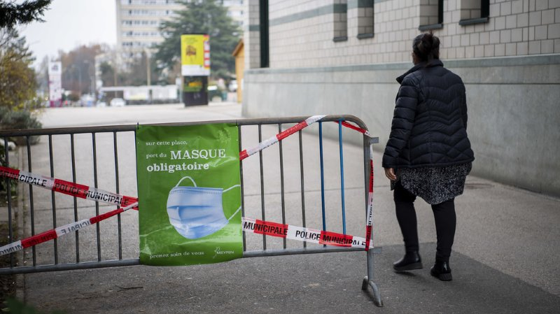 Coronavirus: la Suisse compte 8'782 nouveaux cas en 72 heures, taux de positivité à 16,02%