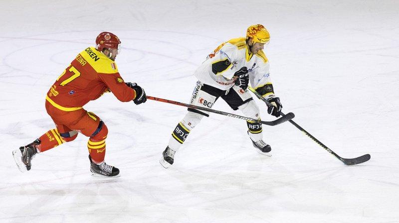 Hockey sur glace - Swiss league: Ajoie bat Sierre, Thurgovie égare des points
