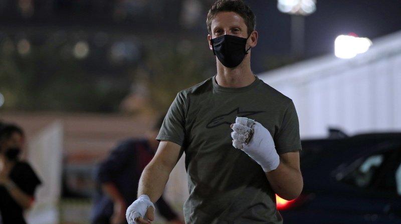 Formule 1: Romain Grosjean a disputé son dernier Grand Prix