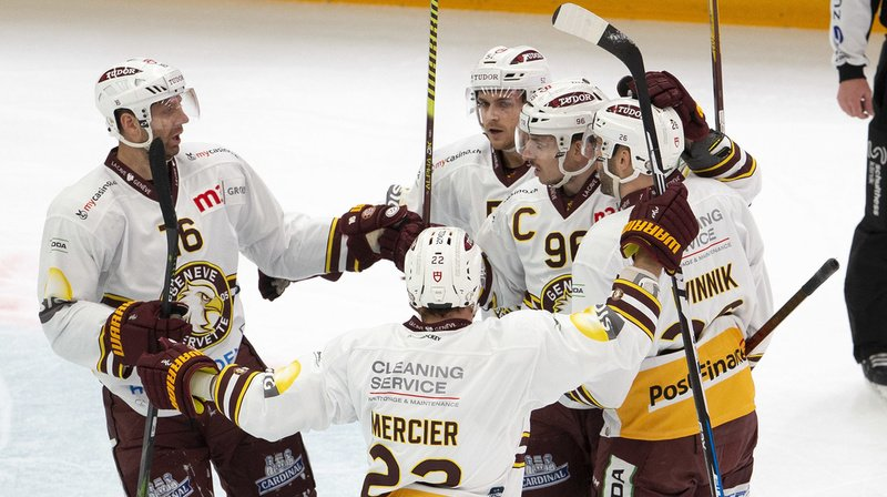 Hockey sur glace – National League: Genève s'impose à Lausanne et Zoug prend sa revanche sur Berne