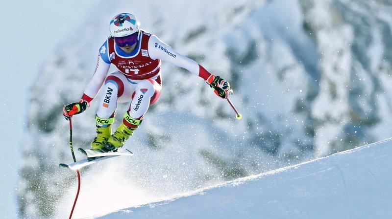 Ski alpin: Urs Kryenbühl signe un très beau podium lors de la descente de Val d'Isère