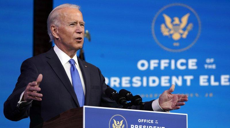 Biden deviendra le 20 janvier le 46e président de l'histoire des Etats-Unis.