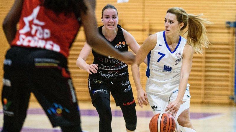 Le Nyon Basket Féminin n'a pas eu voix au chapitre en Valais