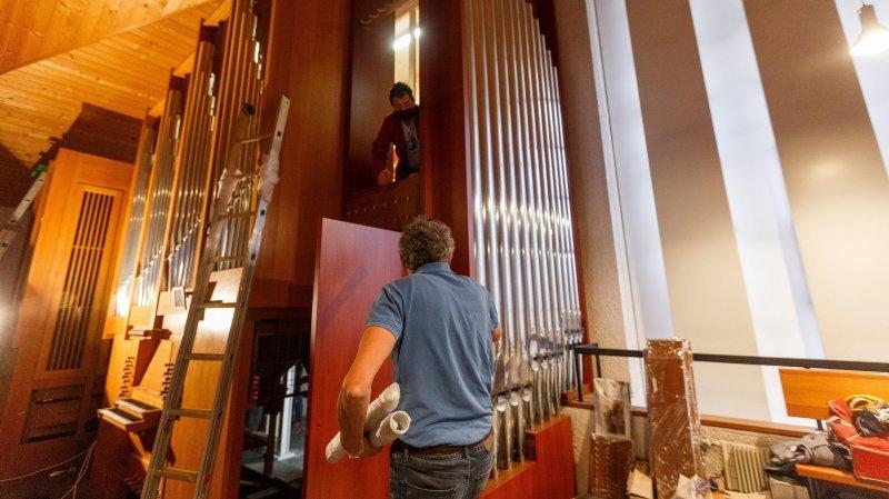 Un orgue unique en Suisse prend forme à Gland