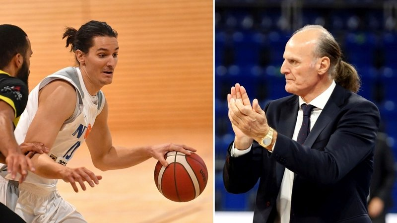 Joueur du BBC Nyon, Stefan Ivanovic a une idole: son illustre père