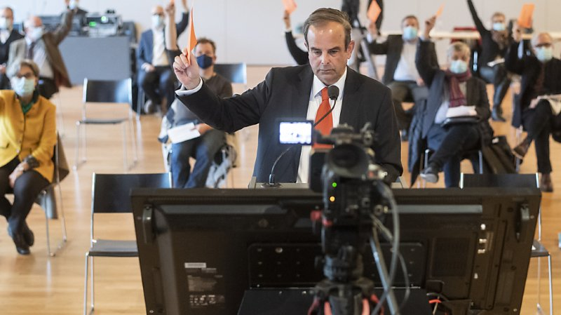 Fusion et changement de nom: le président du PDC, Gerhard Pfister, n'a pas de plan B
