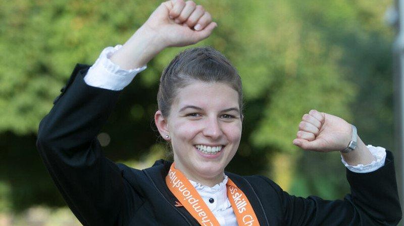 La spécialiste en restauration Shania Colombo remporte le titre de Best of Switzerland.