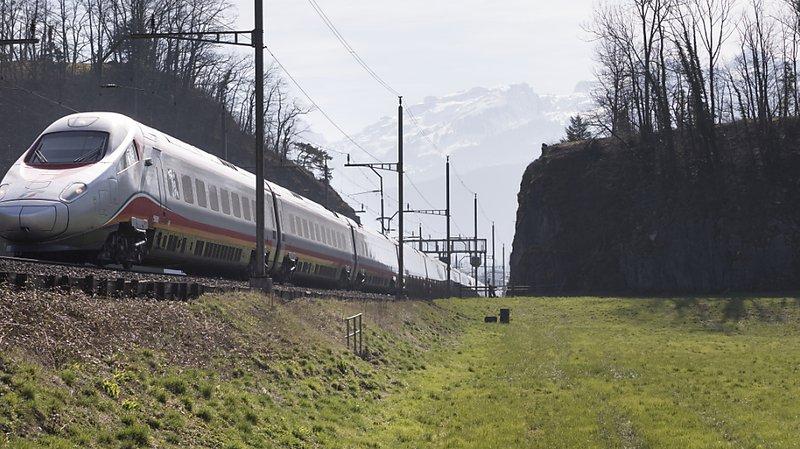 A partir de jeudi, les CFF interrompent les liaisons ferroviaires vers l'Italie