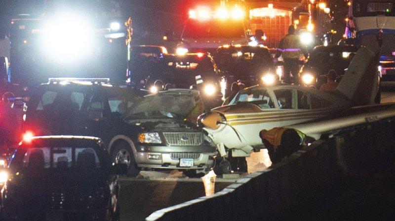 Etats-Unis: il réalise un atterrissage d'urgence sur l'autoroute