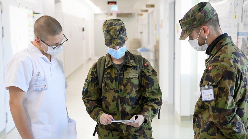 Coronavirus: le Parlement valide l'aide de l'armée aux cantons