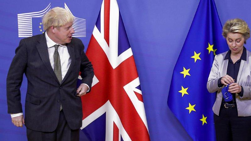 Le Premier ministre britannique Boris Johson et la présidente de la Commission européenne Ursula von der Leyen se sont entretenus pendant plus de trois heures.