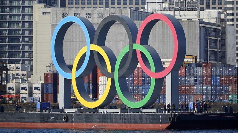 Les anneaux olympiques ont été réinstallés à Tokyo.