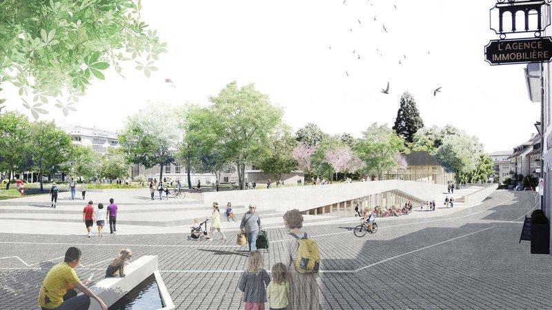 Cœur de ville, économie locale, sport: les 7 défis de Nyon pour 2021-2026
