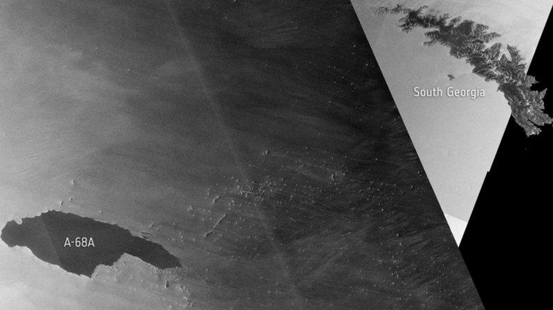 Antarctique: gros iceberg à la dérive sous haute surveillance
