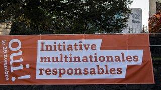 Entreprises responsables: l'initiative refusée de justesse, un «signal» pour les partisans
