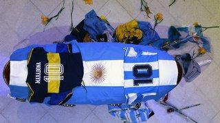Football: Diego Maradona a été enterré jeudi soir