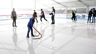 Les patinoires peuvent enfin accueillir quelques fans de glisse