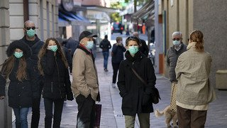 Coronavirus: amendes possibles pour les personnes qui ne portent pas le masque