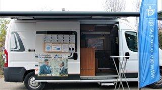 Camping-car, séances Zoom: à Prangins, les partis feront campagne autrement