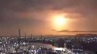 Une météorite embrase le ciel au-dessus du Japon