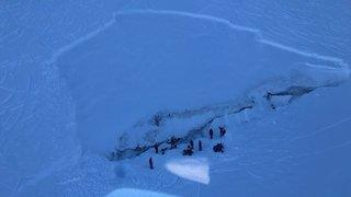Valais: une avalanche mortelle emporte un snowboardeur à Saas-Fee