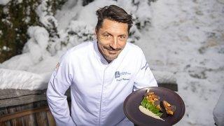 Une assiette de Fêtes: la recette du chef Franck Reynaud du Pas de l'Ours à Crans-Montana