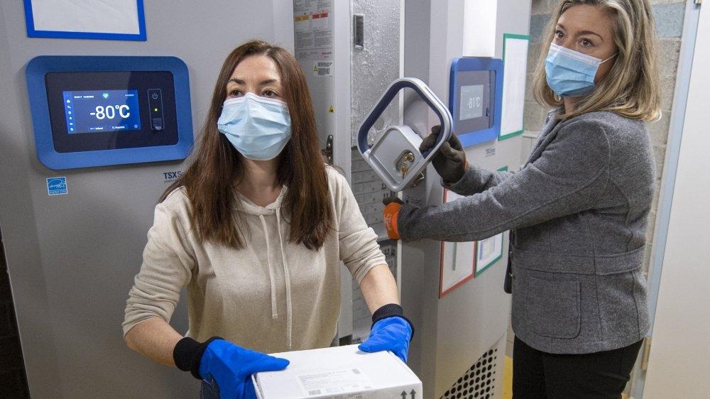 Le vaccin de Pfizer-Biontech doit impérativement être entreposé à -78 degrés. C'est là qu'entrent en scène les congélateurs à température ultrabasse.