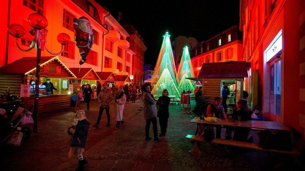 Cette année, pas de marché de Noël, mais des initiatives créatives se sont mises en place.
