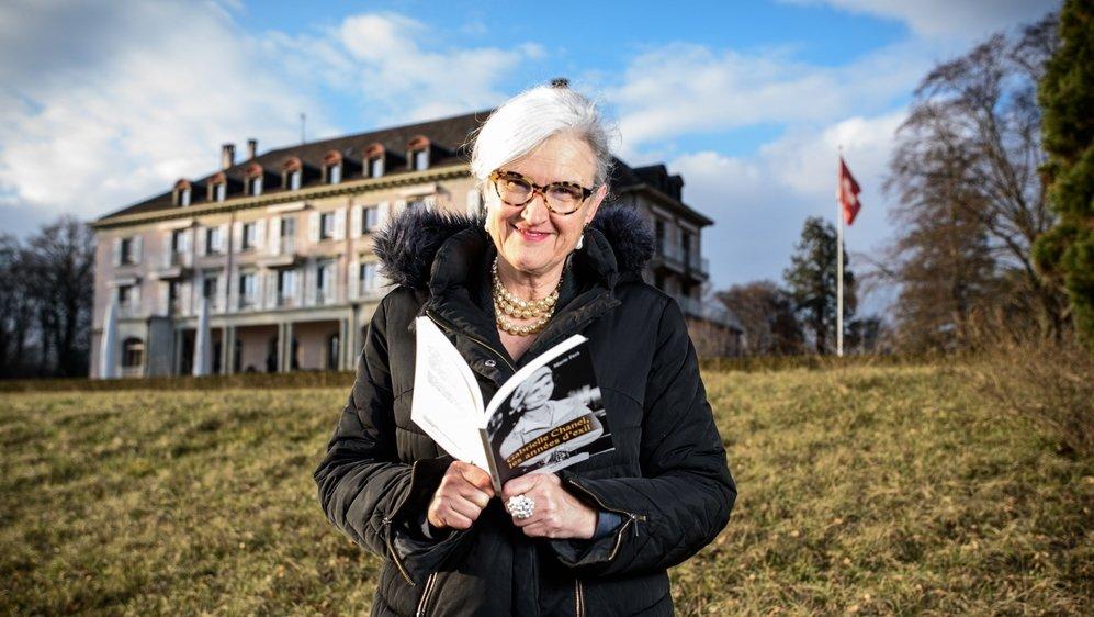 Marie Fert sort son livre sur les années d'exil en Suisse de Gabrielle Chanel. La couturière est notamment passée à Prangins.