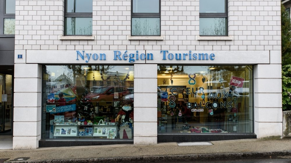Le règlement qui permet de financer Nyon Région Tourisme ne concernera plus Prangins à partir de 2023.