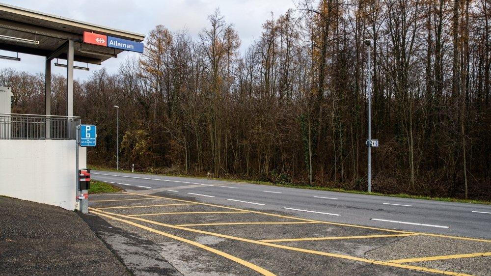 Le prévenu vendait de l'héroïne essentiellement dans la forêt au sud de la gare CFF à Allaman.