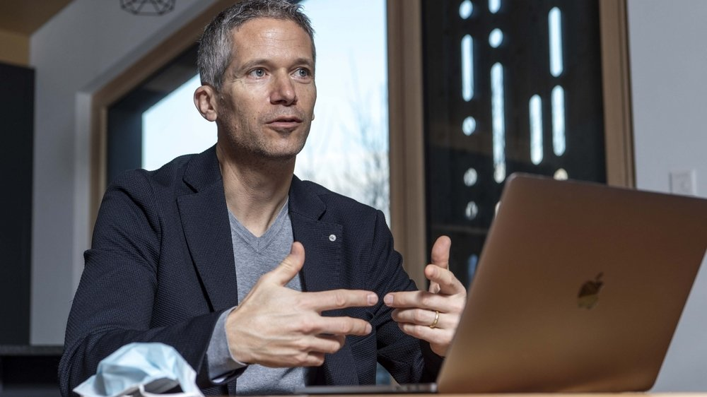 Jacques Fellay, médecin, chercheur au CHUV et à l'EPFL et membre de la Science Task Force nationale Covid-19.