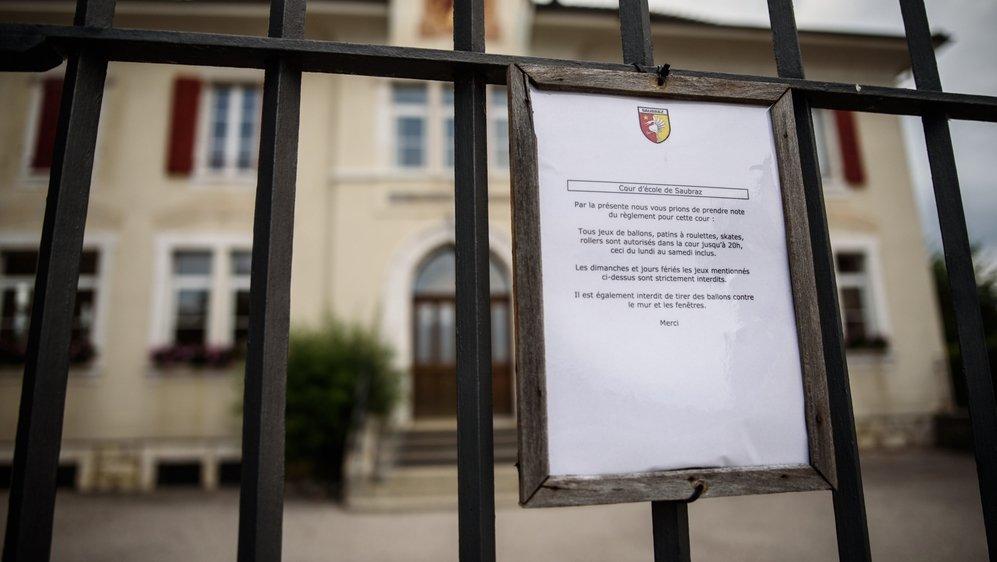 Le panier de basket qui été dans la cour de l'ancienne école a été démonté en 2019. Sera-t-il réinstallé en 2021?