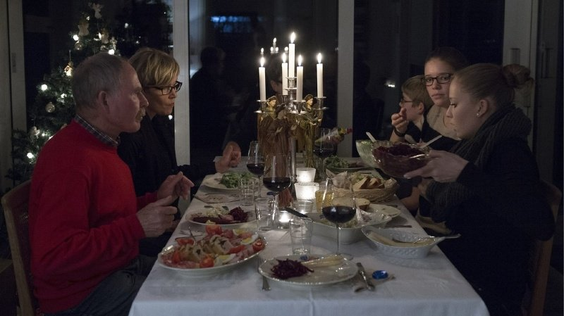 Les Suisses cuisinent souvent de la dinde, du rôti ou une fondue chinoise pour le réveillon de Noël (illustration).