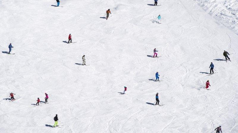 Aucun dérapage majeur n'a été constaté dans les stations de ski vaudoises (photo d'illustration).
